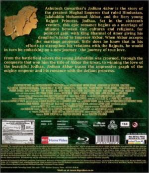 Jodhaa Akbar CD / DVD / BLU-RAY / VINYL - Hrithik Roshan