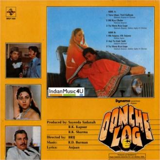 Oonche Log VINYL - Rajesh Khanna