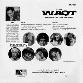Waqt DVD / VINYL - Raaj Kumar