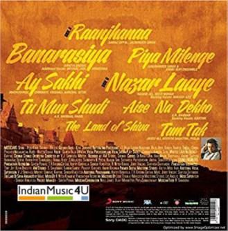 Raanjhanaa CD / DVD / BLU-RAY / VINYL - Sonam Kapoor