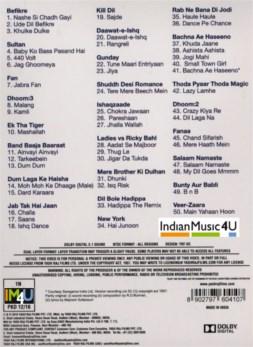 Nashe Si Chadh Gayi Songs DVD / BLU_RAY