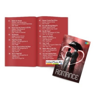 Music Card: Romance (320 Kbps MP3 Audio) USB