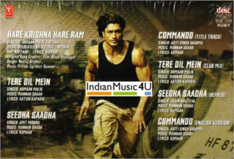 Commando 2: The Black Money Trail CD - Vidyut Jamwal