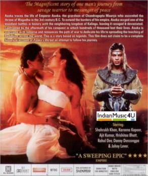 Asoka DVD / VINYL - Shahrukh Khan