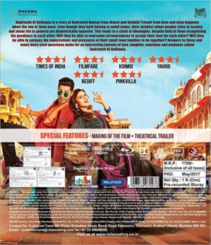 Badrinath Ki Dulhania DVD / Blu-Ray /CD - Varun Dhawan