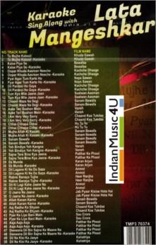 Sing Along With LATA MANGESHKAR Karaoke MP3 - Tips