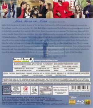 Kabhi Alvida Naa Kehna DVD / Blu-Ray / Vinyl