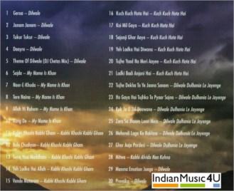 Hits Of SHAH RUKH KHAN & KAJOL MP3