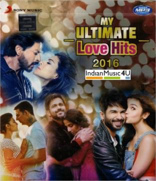 My Ultimate Love Hits 2016 CD / MP3