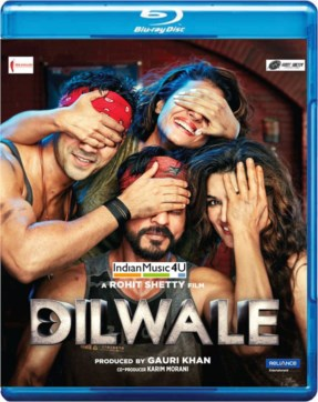 Dilwale DVD / BLU-RAY / CD / VINYL / MP3 - Shah Rukh Khan