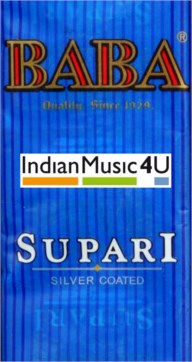 BABA Silver Coated Flavoured Supari 3 Pouches Packets