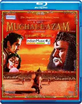 Mughal-e-Azam In Colour DVD / BLU-RAY - Dilip Kumar
