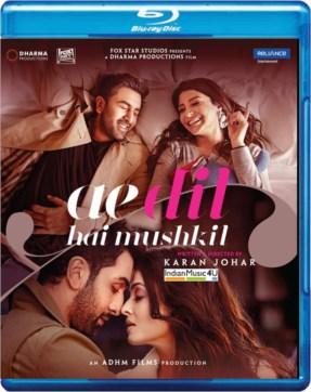 Ae Dil Hai Mushkil DVD / BLU-RAY / CD / VINYL - Ranbir Kapoor