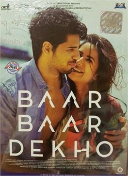Baar Baar Dekho DVD / CD - Sidharth Malhotra