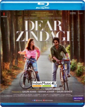 Dear Zindagi DVD / BLU-RAY / CD - Shahrukh Khan