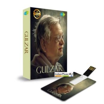 Music Card: Gulzar (320 Kbps MP3 Audio) USB