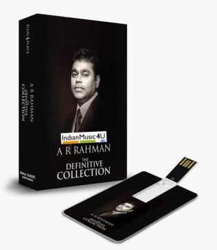 Music Card: A. R. Rahman The Definitive Collection (320 Kbps MP3 Audio)
