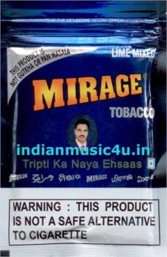 MIRAGE Tobacco 9X20g Blue Plastic Zip Pouches