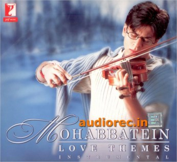 MOHABBATEIN Love Themes Instrumental CD