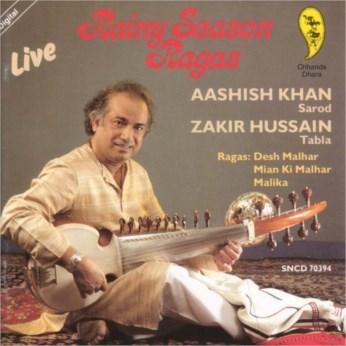 Rainy Season Ragas CD - Aashish Khan