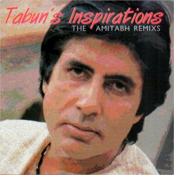Tabun's Inspirations Amitabh Bachchan Re-mix CD - FREE SHIPPING