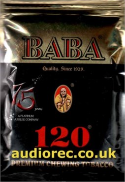 BABA 120 Chewing Tobacco 50g Tin / Pouche