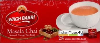 Wagh Bakri MASALA CHAI Natural Flavour 50 Tea Bags