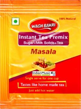 Wagh Bakri MASALA Instant Tea Premix 10 Sweetened Sachets