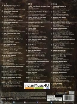 Bundle 1 - Bollywood Film  ( Pink 5 CD pack  )