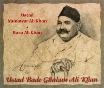 Homage To Ustad Bade Ghulam Ali Khan CD - FREE SHIPPING