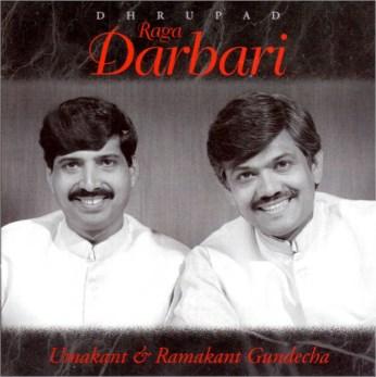 Raga Darbari CD - Gundecha Brothers - FREE SHIPPING