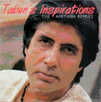 Tabuns Inspirations Amitabh Bachchan Re-mix CD - FREE SHIPPING